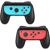 MoKo Nintendo Switch Joy-Con Grip, [2-Pack] Profile-modeling Controller Handle Kit for Nintendo Switch Joy-Con (Black)