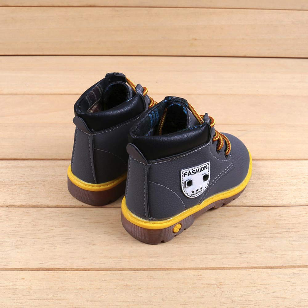 SMALLE ◕‿◕ Clearance,Baby Children Warm Boys Girls Martin Sneaker Boots Kids Baby Casual Shoes by SMALLE (Image #4)