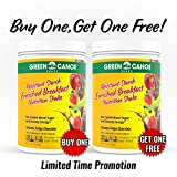 Green Canoe Shake - Diabetic-Friendly, Full Nutrition Breakfast for Stable Blood Sugar, Steady Energy & Healthy Body Weight - Buy One, Get One Free