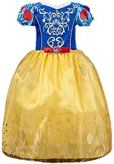 Ninimour Vestido de princesa Grimms Fairy Tales Disfraces para Halloween Cosplay Costume para Niñas