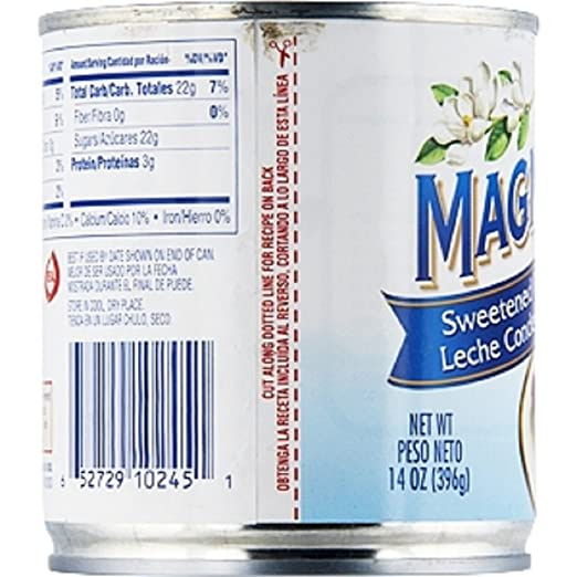 Amazon.com : Borden, Magnolia, Sweetened Condensed Milk, 14oz Can (Pack of 6) : Grocery & Gourmet Food