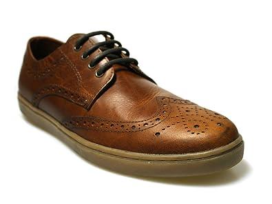 Red Tape Girvan - Zapatos de Cordones de Piel para Hombre ...