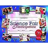 Science Fair Participation Certificate (Set of 30)