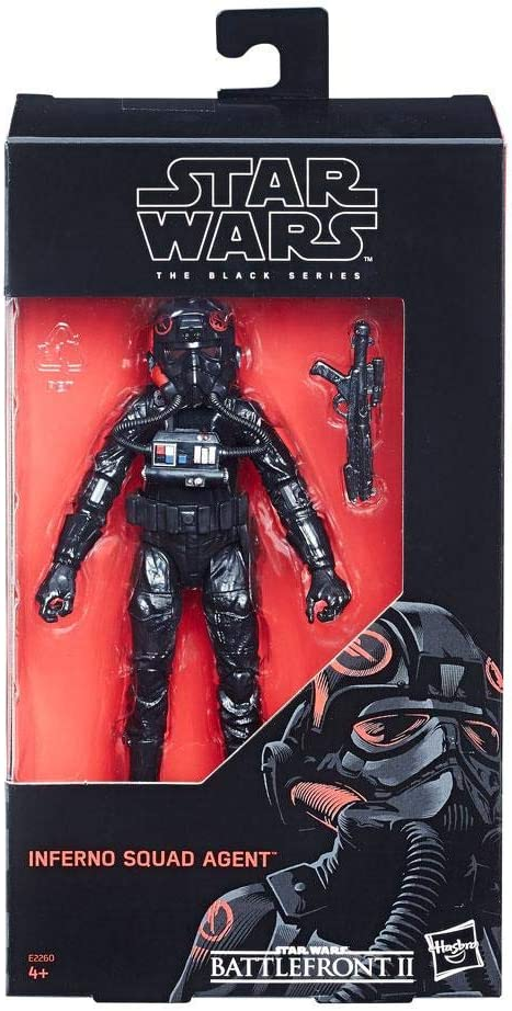 Amazon Com Star Wars Black Series Inferno Squad Agent Exclusive Toys Games