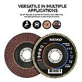 "20 New 4.5"" 40 Grit Aluminum Oxide Flat Flap Disc"