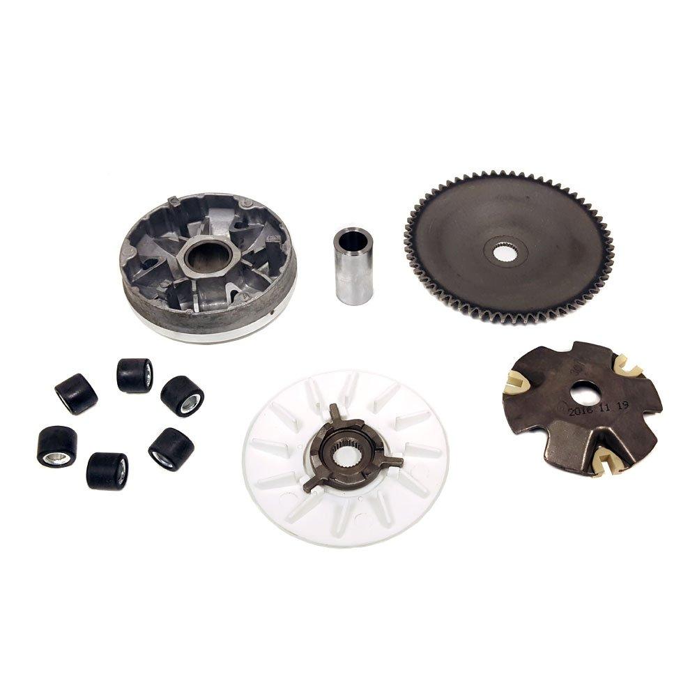 Variator Drive Wheel Assy (CVT) Complete - 50cc 4 Stroke QMB139