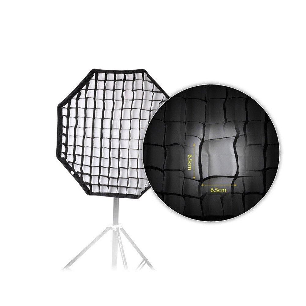 47 Octagon Umbrella Softbox Studio//Strobe Umbrella Softbox Andoer Photographic Honeycomb Grid for 120cm
