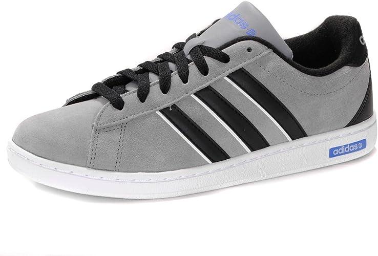 adidas Neo Derby Suede Trainers - Grey