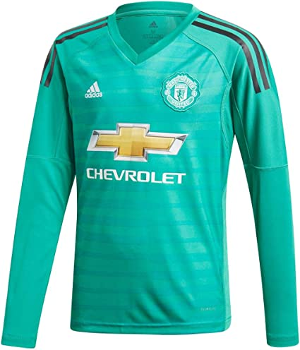 Manchester United Home Kids Goalkeeper Jersey 2018 2019 Xl 176cm Sports Outdoors Amazon Canada