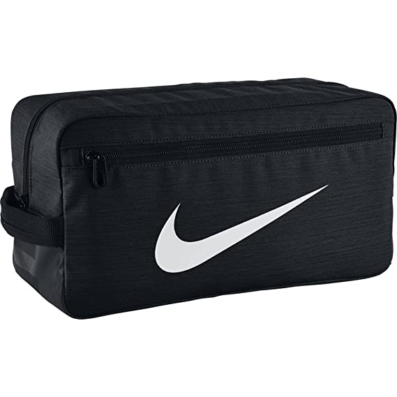 713f7f265 Nike Zapatillero Nk Brsla Bolsa de Deporte, Hombre, Negro/Blanco, Talla  única: Amazon.es: Deportes y aire libre