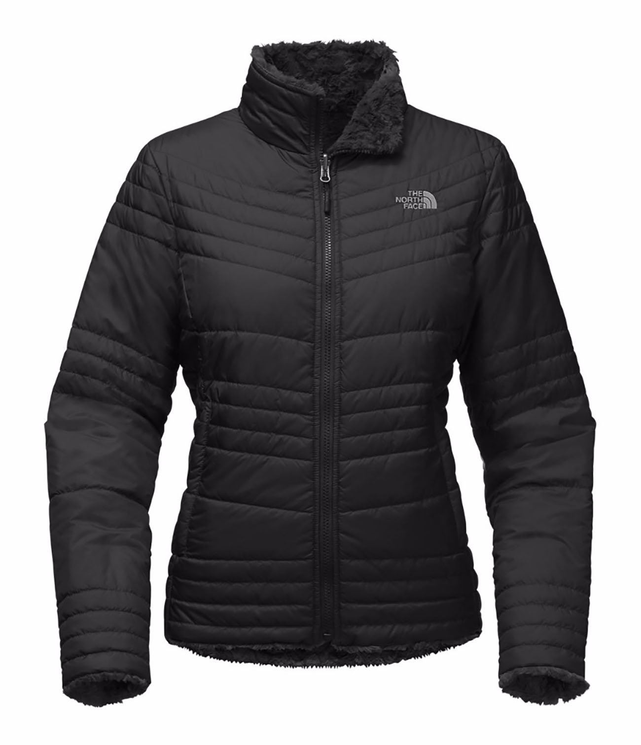 The North Face Womens Mossbud Swirl Jacket JK3BLACK XL by The North Face