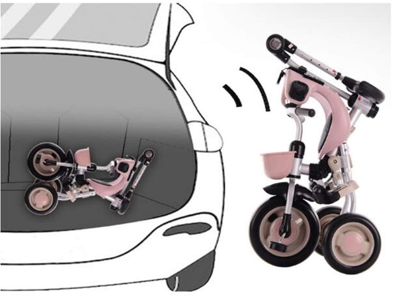 WYX-Stroller Cochecito de Bicicleta para niños de 12 Meses a 5 ...