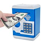 Amazon Price History for:APUPPY Cartoon Password Piggy Bank Cash Coin Can,Electronic Money Bank,Birthday Gifts Toy Gifts for Kids (Blue)