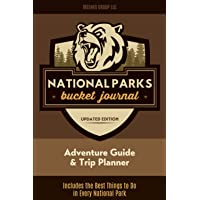 Image for National Parks Bucket Journal: U.S. Outdoor Adventure Log List Guide | Memory Book | Lodges & Trip Planner | America Passport & Stamp