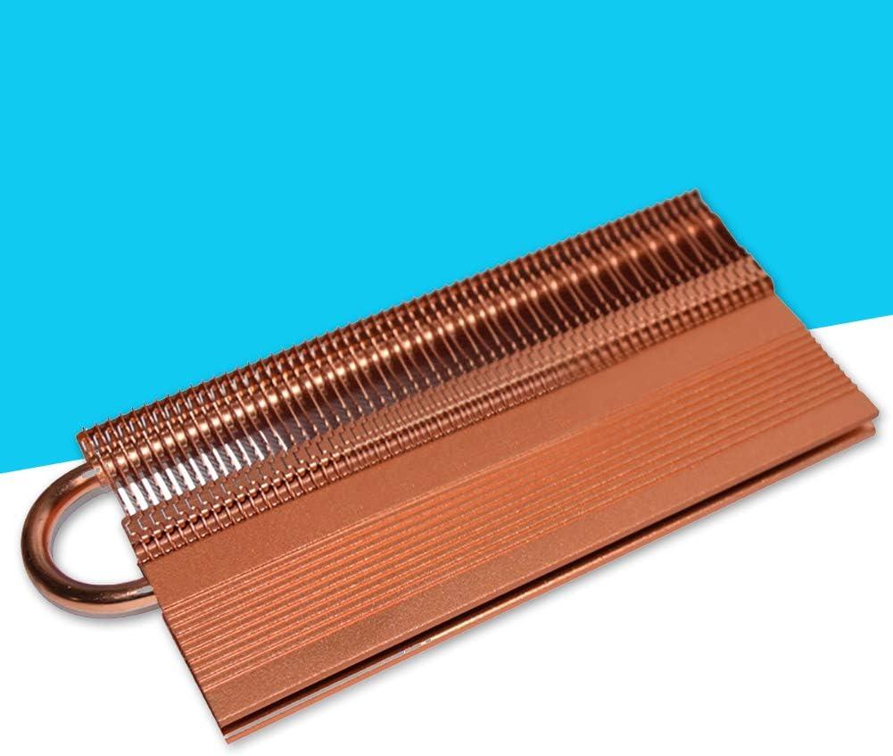 Shentesel Memory Cooling RAM Cooler Heatsink PC Computer Copper Heat Pipe Heat Dissipation