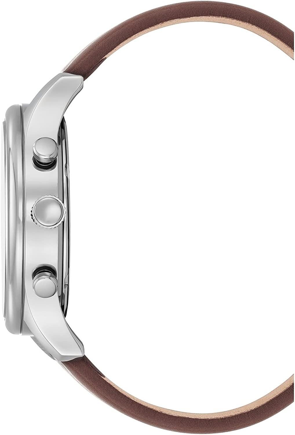 Kenneth Cole New York Men s Sport Quartz Stainless Steel and Leather Dress Watch