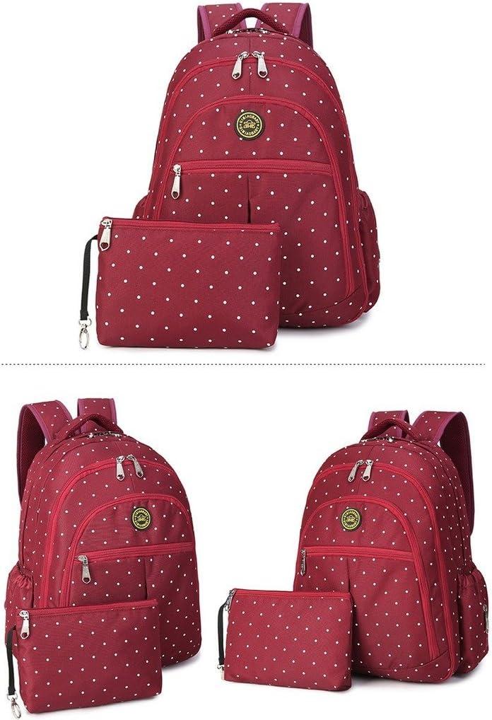 YuHan Sac /à dos de voyage avec matelas /à langer sac pour les couches grande capacit/é forme adapt/ée aux poussettes poches isol/ées