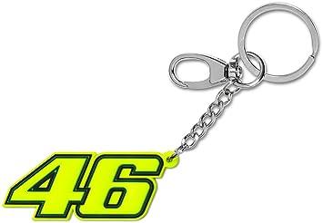 VR46 Llavero de Goma Valentino Rossi 46