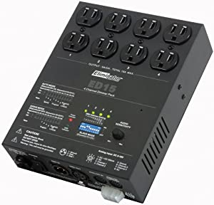 Eliminator Lighting SPECIAL EFFECTS LIGHTING AND EQUIPMENT, one size (ED-15)