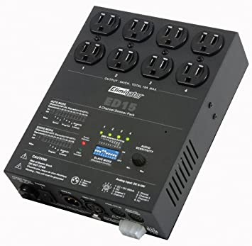 Eliminator Lighting Dimmer Packs ED-15 Special Effects Lighting and Equipment  sc 1 st  Amazon.com & Amazon.com: Eliminator Lighting Dimmer Packs ED-15 Special Effects ... azcodes.com