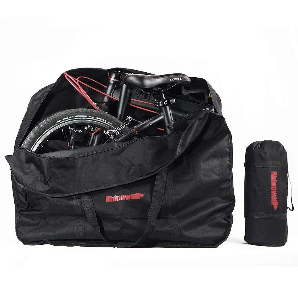 CamGo 20 Inch Folding Bike Bag – Waterproof Bicycle Travel Case Outdoors Bike Transport Bag for Cars Train Air Travel
