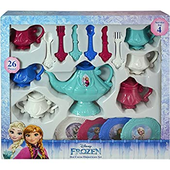 Disney Frozen 26 Piece Dinnerware Tea Set  sc 1 st  Amazon.com & Amazon.com: Frozen Dinnerware Set (26 Piece): Toys u0026 Games