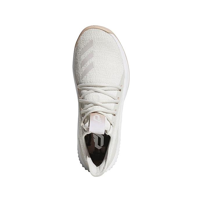 huge selection of 64b3c fecdf Adidas Dame D.O.L.L.A. Shoe Mens Basketball 14 Crystal White-Chalk Pearl-Light  Grey Amazon.ca Shoes  Handbags