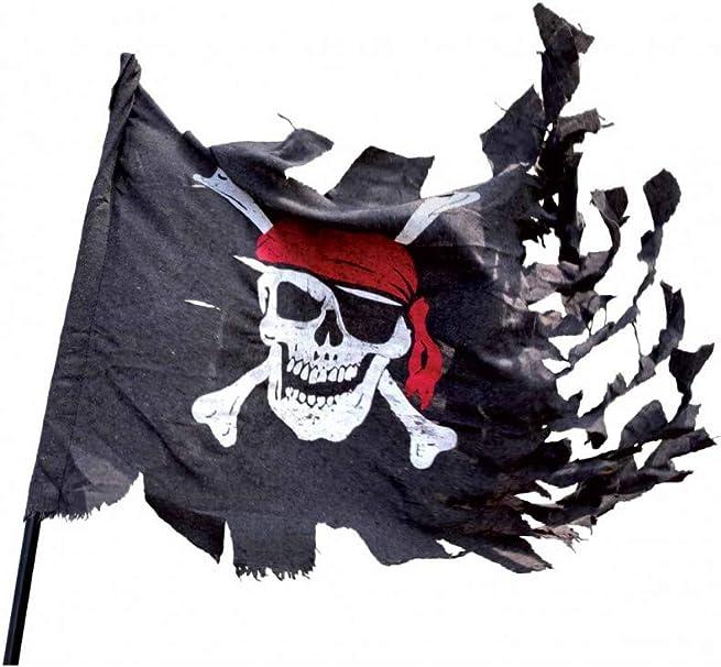 P Tit Payaso 29400 pabellón Pirata Rasgada – 70 x 100 cm – Negro: Amazon.es: Juguetes y juegos