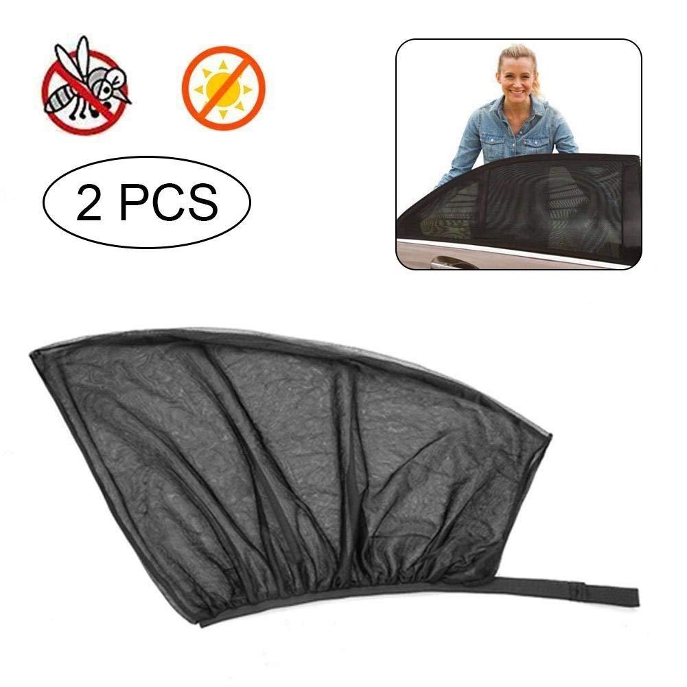 Li_unmio auto parasole (2pezzi), universale auto parasole protezione UV | protegge il bambino, animali domestici anziani bambini dal sole, Fits all (99%) Cars. Most SUV.