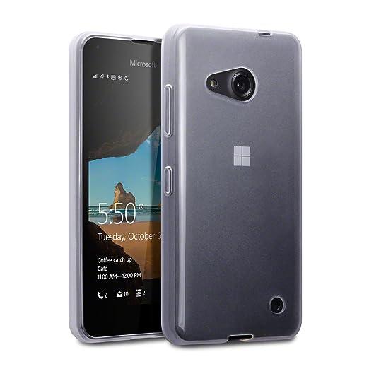 30 opinioni per Terrapin TPU Gel Custodia per Microsoft Lumia 550 Skin, Colore: Trasparente