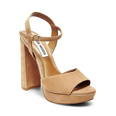1c874073cfe Steve Madden Womens Kierra Nubuck Slingback Dress Sandals