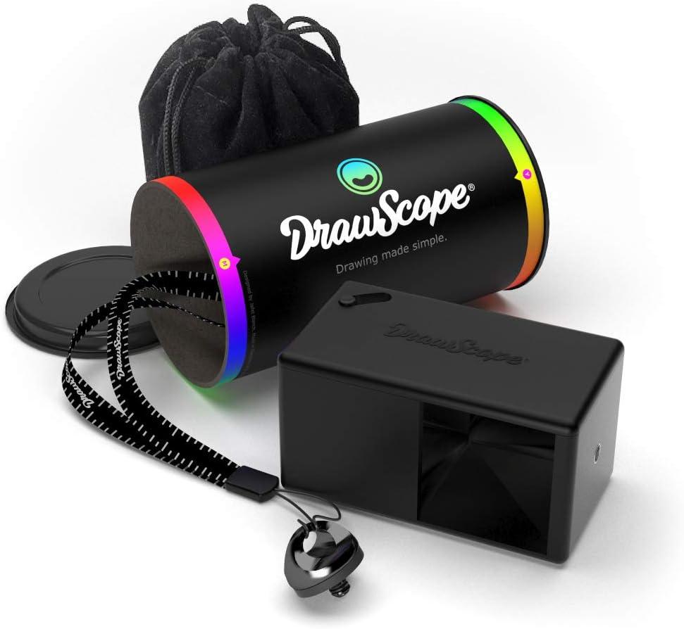 das Ihnen erm/öglicht DrawScope K/ünstlerprojektor Ein optisches Ger/ät Ihre Malvorlagen auf jeder Oberfl/äche zu projizieren.