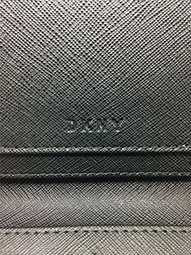 DKNY Women's Ladies Snap Closure Leather Purse - Dark Green