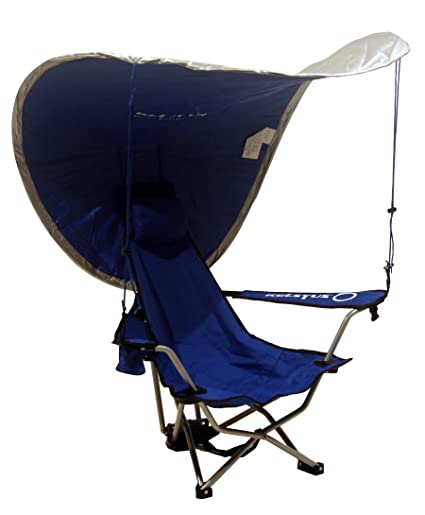 Kelsyus Recline Backpack Beach Chair with UV Canopy  sc 1 st  m.amazon.com & Amazon.com : Kelsyus Recline Backpack Beach Chair with UV Canopy ...