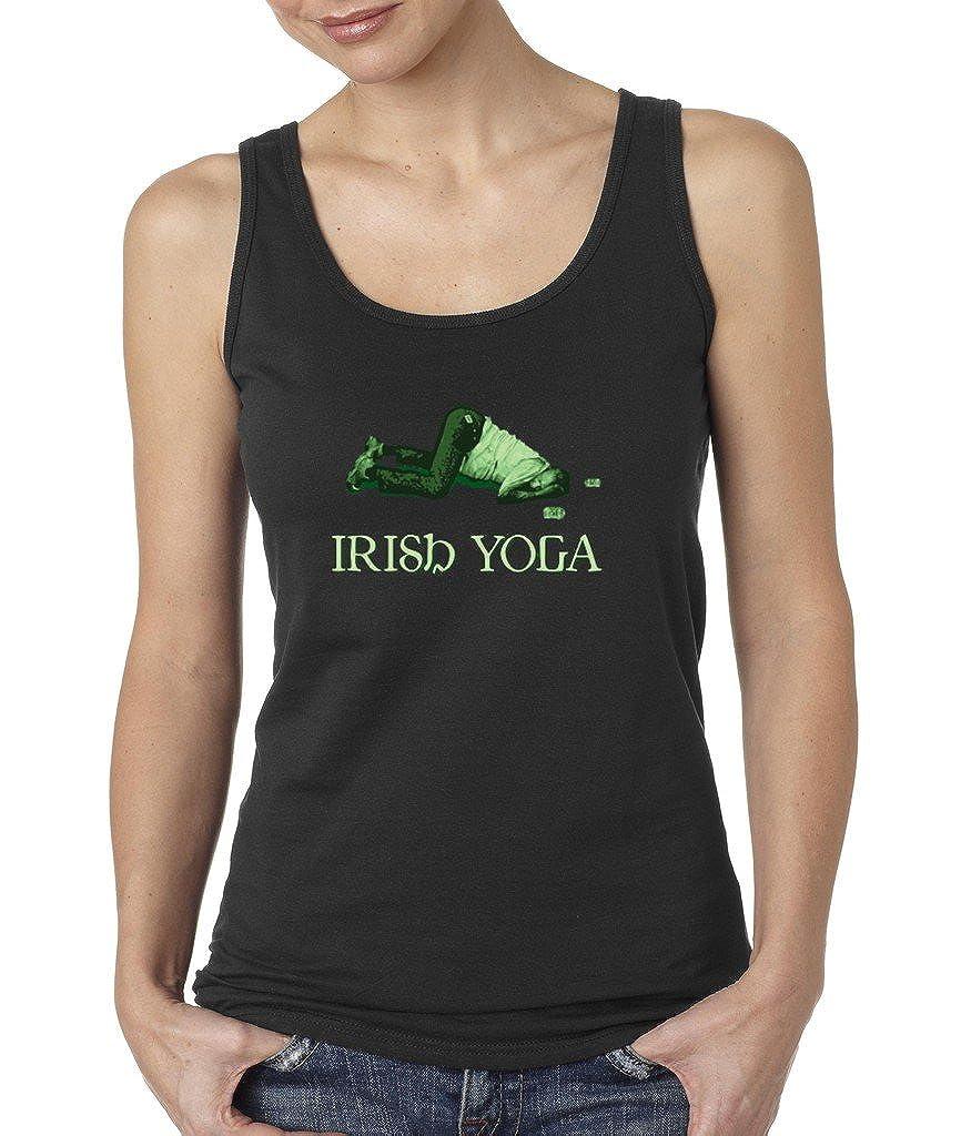 Vintage Irish Day Irish Yoga Funny T-shirt Proud Irish Shamrock Shirts