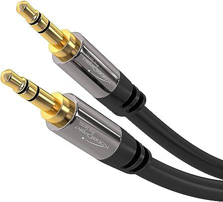 Kabeldirekt 7 5 M Aux Kabel 3 5 Mm Klinkenkabel Elektronik