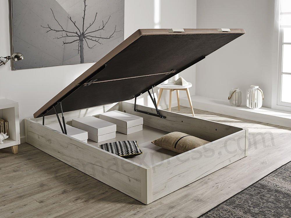 Hogar24.es Aufklappbares Bett / -Canapé, aus Holz, gro&szlig ...