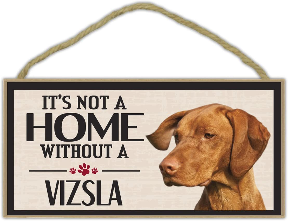 It/'s Not A Home Without A WEIMARANERDogs Wood Sign Decorations Gifts