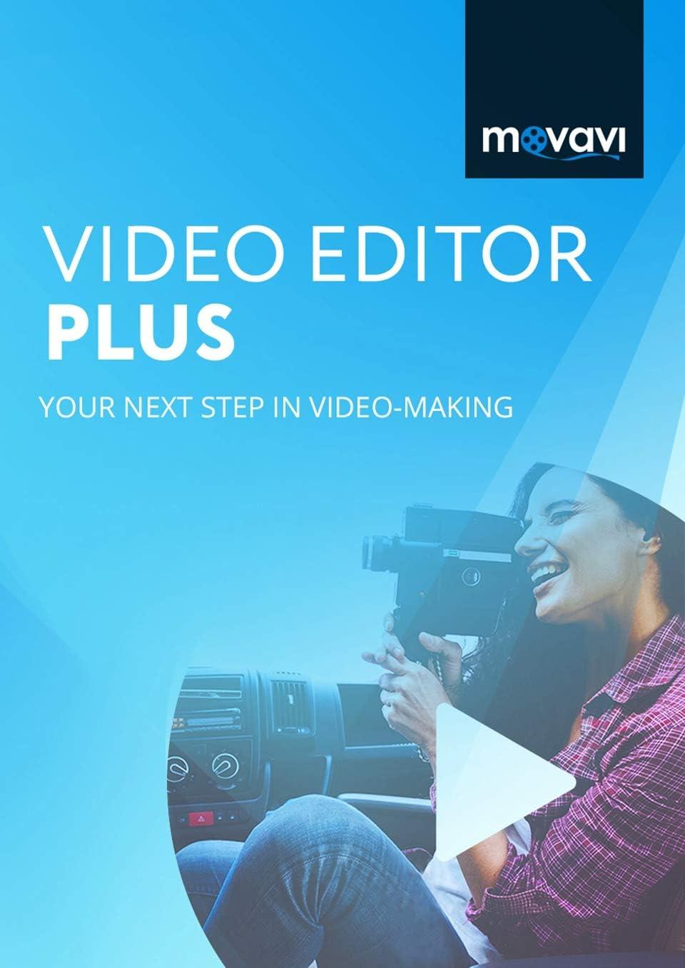 Movavi Video Editor Plus 2020 Personal [PC Download] 612B-bO-eBSL