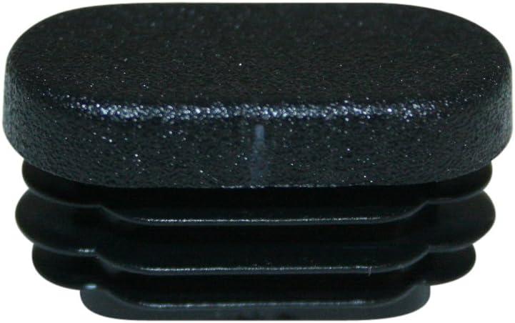 ovalada, 30/x 15/mm//–/Tapas para tubo ovalado//–/Muebles Deslizante bien 12/tapones de l/áminas