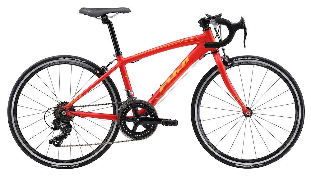 FUJI(フジ) ACE 24 24インチ MATT RED 子供用ロードバイク 2018年モデル 18AC24RD MATT RED 24インチ B075SZ213D