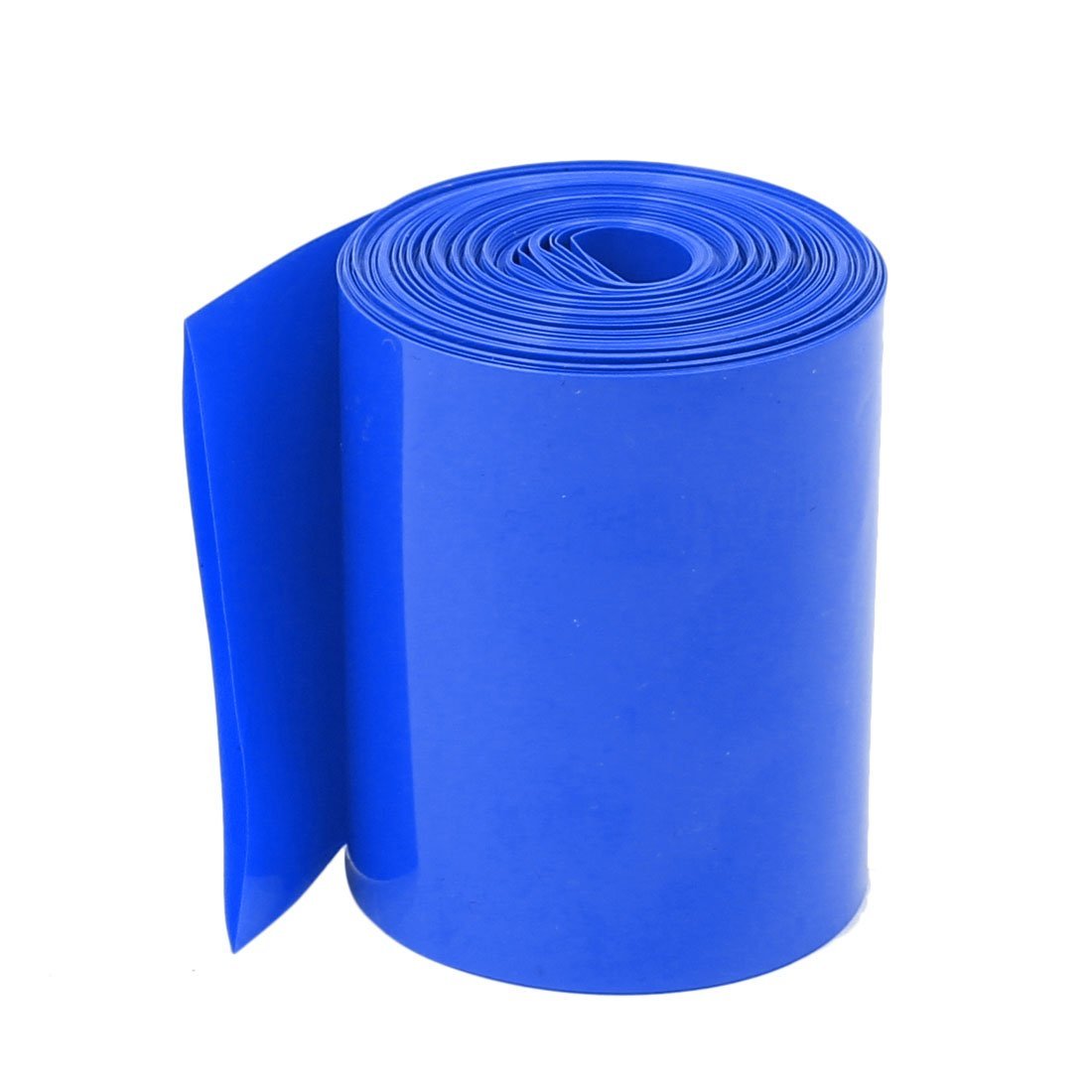 sourcingmap® 32mm Diametro 8M DI LUNGHEZZA IN PVC Blu tubo termoretraibile per 2 x Batteria 18650 sourcing map SYNCTEA005320
