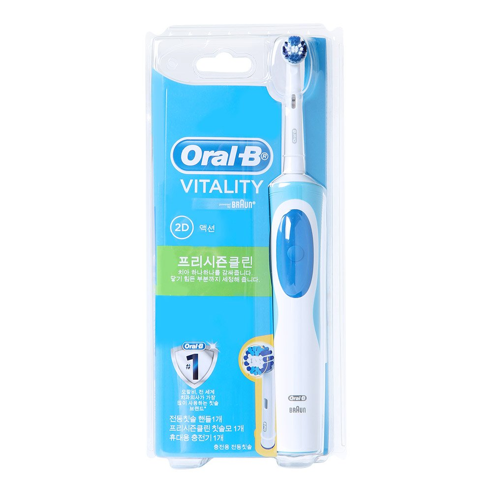 Braun Oral-B D12.023P Vitality Precision Clean Electric Toothbrush Only 220~240V Digitalguy