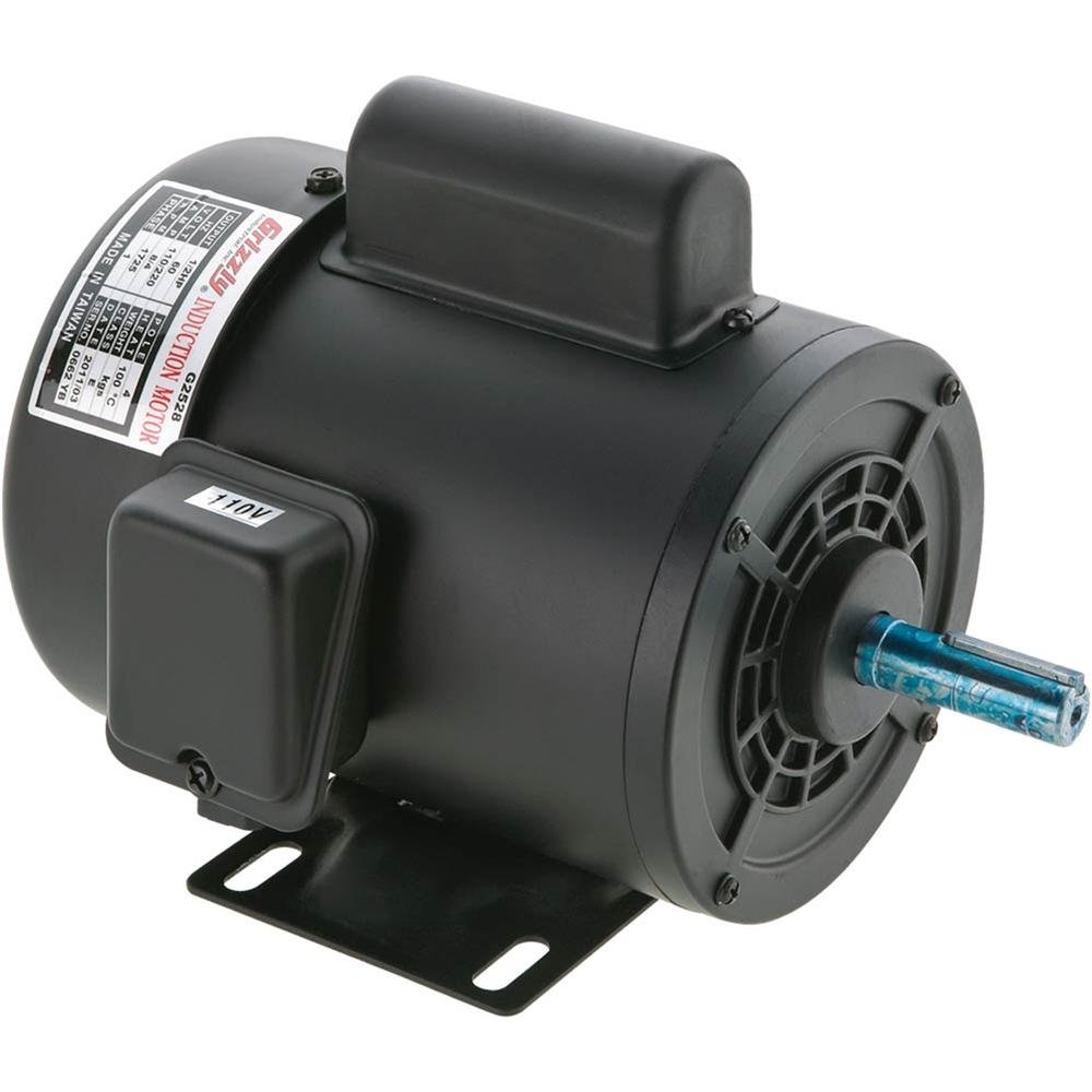 Grizzly G2533 1 HP Motor Single-Phase, 3450 RPM