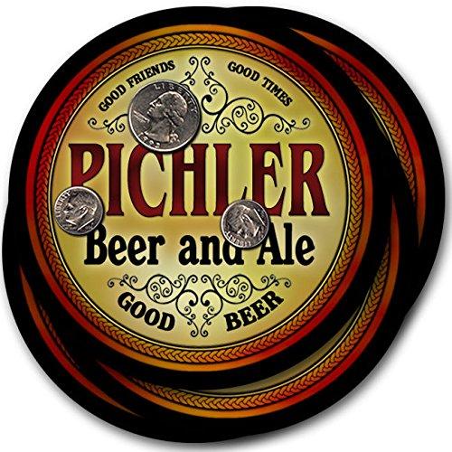 ピッチラービール& Ale – 4パックドリンクコースター   B003QXVQ60
