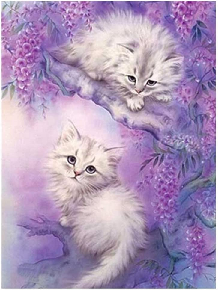 Cat 5D Diamond Painting A Staron Clearance Cross Stitch Kit Crystals DIY 5D Diamond Painting Rhinestone Pictures Embroidery Wall Art Decor Hat Cats