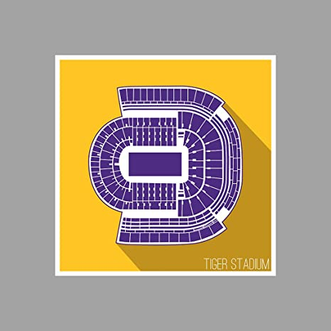 Amazon.com: LSU – Tiger Estadio – -College Football Asientos ...