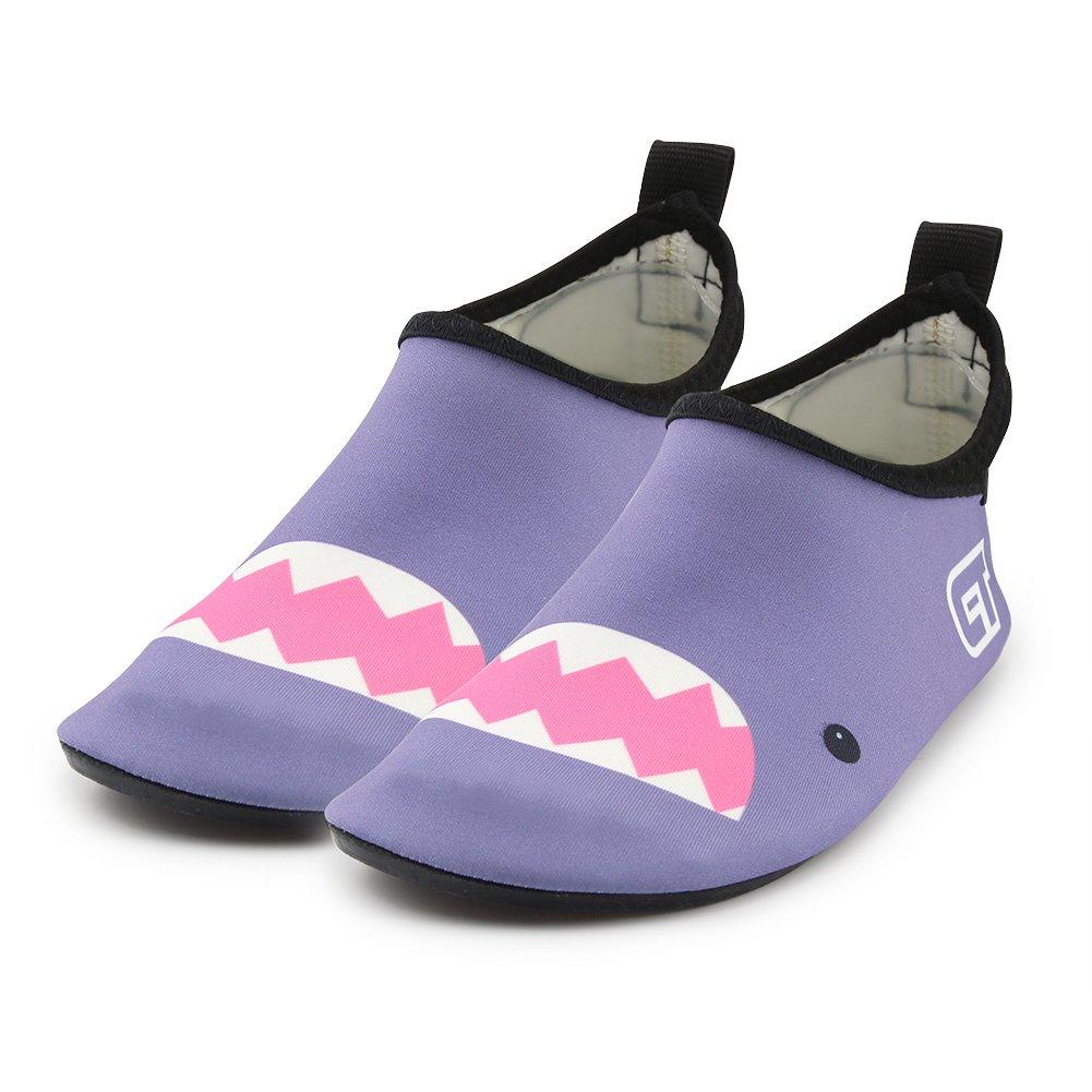 Toddler//Little Kid//Big Kid Boys Girls Swimming Water Shoes Kid Aqua Barefoot Sock