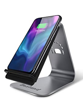 Bestand Cargador Inalámbrico Rápido, Compatible con iPhone X/8/8 Plus/Samsung Galaxy S8 Plus, S8, S7 Edge, S7 y Todos los Dispositivos ...
