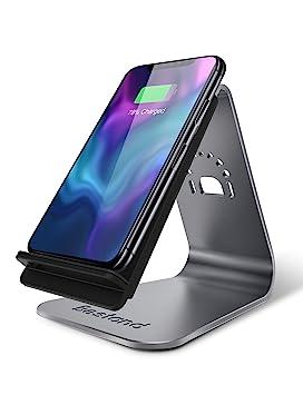 Bestand Cargador Inalámbrico Rápido, Compatible con iPhone X/8/8 Plus/Samsung Galaxy S8 Plus, S8, S7 Edge, S7 y Todos los Dispositivos ...